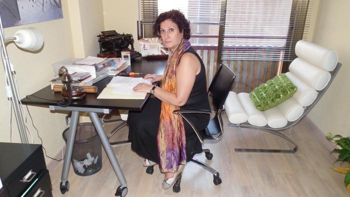 Ana treballant